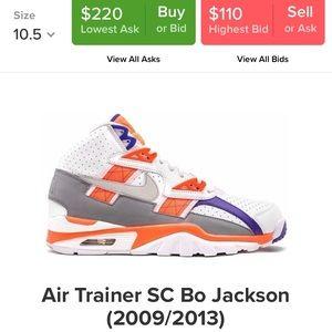 Men's Nike Air Trainer SC Bo Jackson sneakers